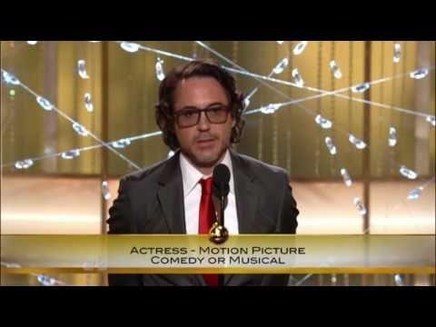 Robert Downey Jr: Golden Globe Awards 2011 speech, FULL, HQ