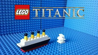 LEGO Titanic Mini Movie REMASTERED (Stop Motion)