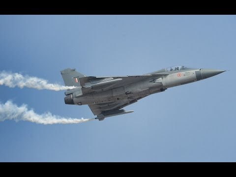 Tejas Light Combat Aircraft in Action