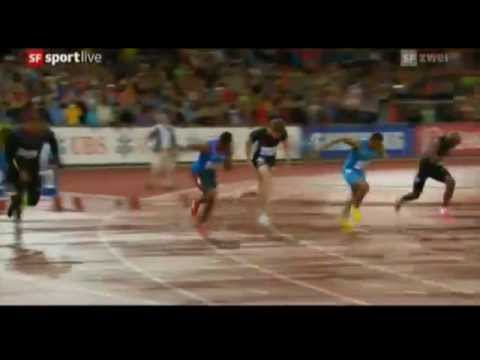 IAAF Diamond League Zurich men 100m