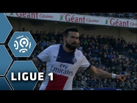 But Ezequiel LAVEZZI (19') - SC Bastia-Paris Saint-Germain (0-3) - 08/03/14 - (SCB-PSG)