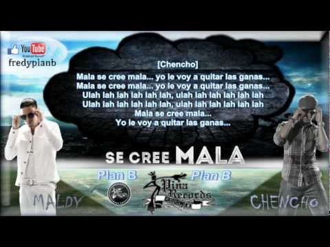 se Cree Mala (letras) - Plan B ✔ video