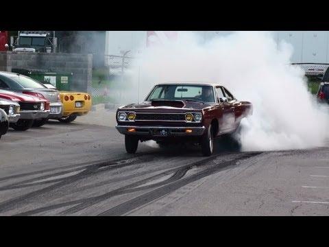 1968 1000hp Hemi Roadrunner Burnout
