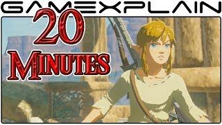 20 Minutes of Zelda: Breath of the Wild Gameplay on Nintendo Switch