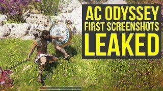 Assassin's Creed Odyssey First SCREENSHOTS Show Combat, Map, Gear Menu & Way More (AC Odyssey)