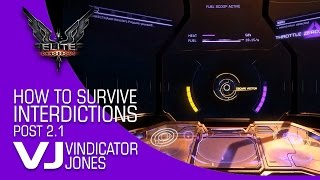 Elite Dangerous How to Survive Interdiction