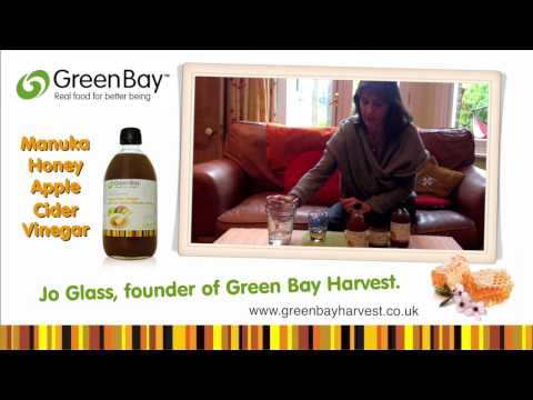 Green Bay Harvest   Benefits Of Manuka Honey With Raw Apple Cider Vinegar   Jo Glass