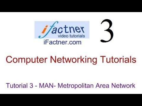 Computer Networking Tutorial in Hindi Urdu 3, Metropolitan Area Networks MAN