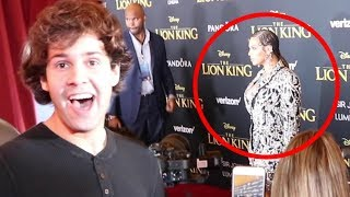 VLOG SQUAD CRASHES LION KING PREMIERE!!