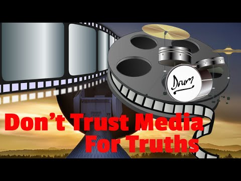 Don't Trust Media for Truths - Flat Earth