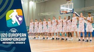 Netherlands v Estonia - Full Game - FIBA U20 European Championship Division B 2019