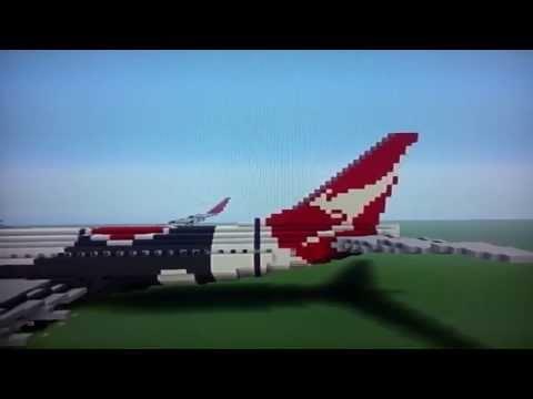 Minecraft Boeing 737-800 (Qantas Airlines )
