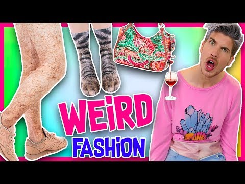 TRYING OUT THE WEIRDEST INTERNET FASHION TRENDS!
