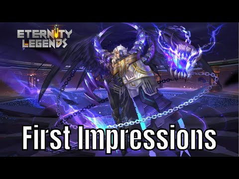 Eternity Legends: (League of Gods Dynasty Warriors) First Impressions RS: 6.5