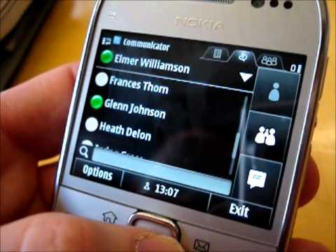 Nokia E6 Walkthrough