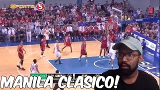 MANILA CLASICO!!! GINEBRA VS STAR HIGHLIGHTS REACTION!