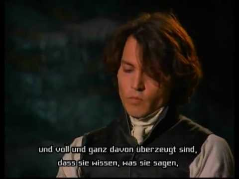 Johnny Depp interview for Sleepy Hollow DVD extras