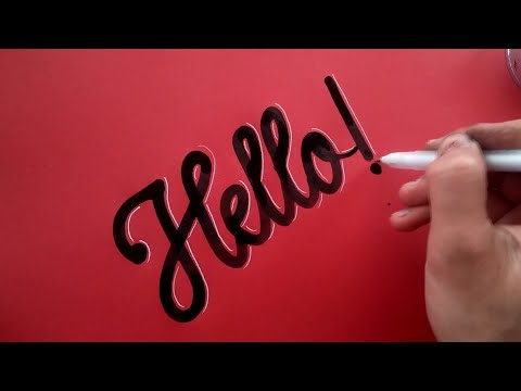 Calligraphy compilation ! (Super satisfying !)