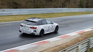 2020 AUDI RS6 Testing on the Nürburgring   THANK GOD IT SOUNDS GREAT!
