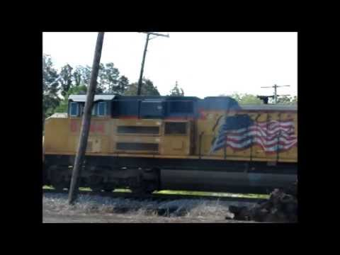 National Train Day Railfanning Bald Knob, AR 5-11-13 with Railfans! Part 1