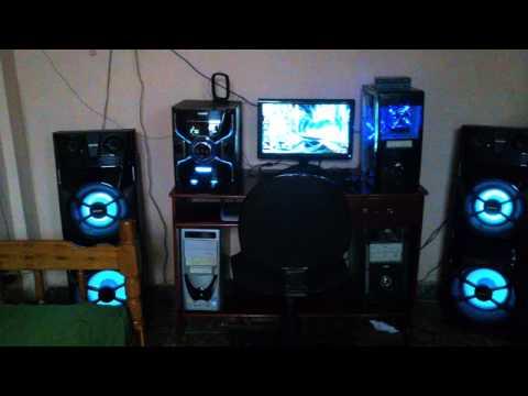 Sony MHC- GPX8 *-* Corneta Grita mto HAHA