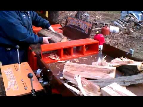 Tempest log splitter
