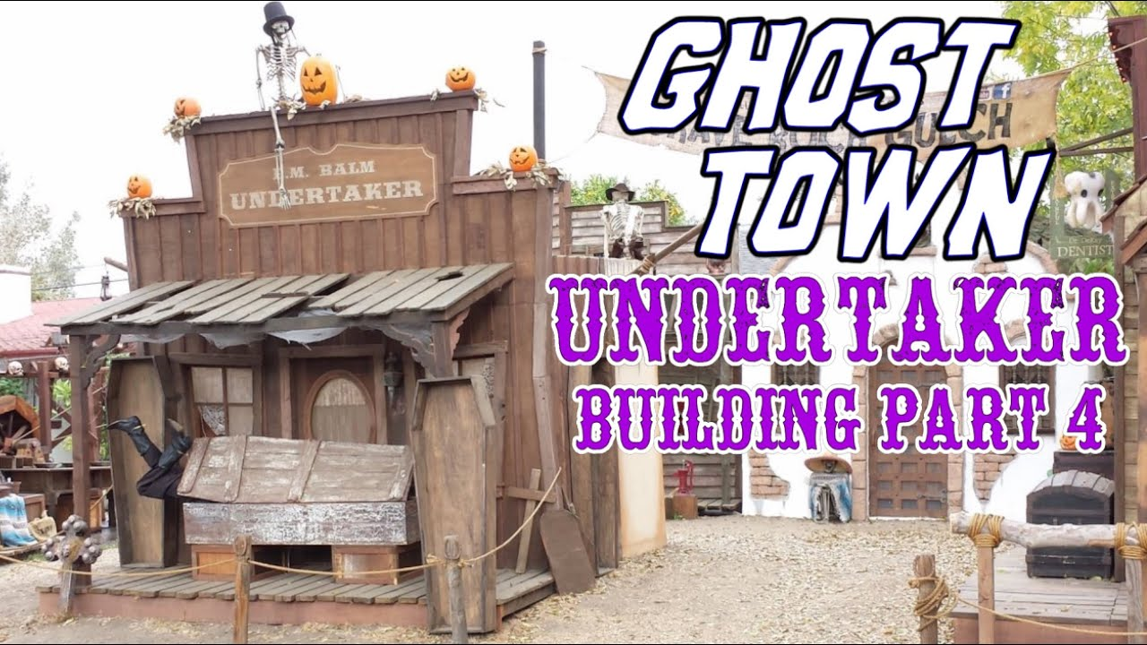 Making An Old Western Ghost Town Undertaker Facade Part 4