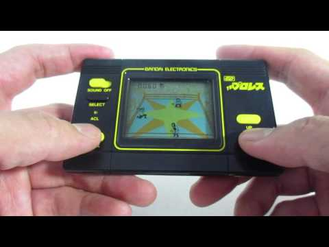 16879 Bandai LCD Game Digital The Pro Wrestling