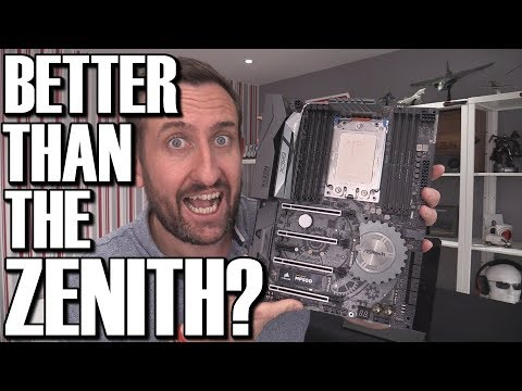 Asrock X399 Taichi Threadripper TR4 Motherboard Review