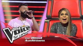 Shehan Dewage - Ma Handawala Blind Auditions | The Voice Sri Lanka