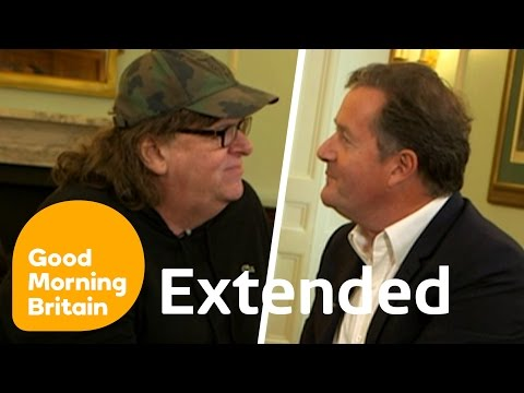 Michael Moore On Guns, Trump And The EU With Piers Morgan - Full Interview | Good Morning Britain thumbnail