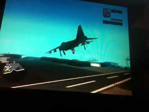 Gta San Andreas how to work a hydra jet for (pc and laptop)