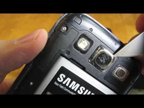 Samsung Galaxy S3 Camera Lens Replacement