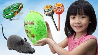 Trò Chơi Chia Kẹo Cho Chuột Và Ếch ❤ AnAn ToysReview TV ❤