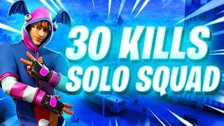 SOLO vs. SQUAD - 30 KILLS WIN..! - (100K SPECIAL)