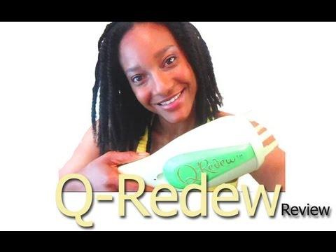Natural Hair- Q-REDEW hand held Steamer on 4a. 4b. 4c hair