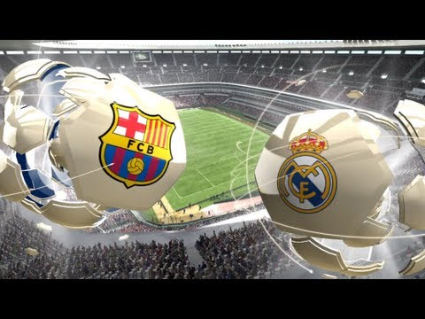 FIFA 13 Xbox 360 Gameplay HD FC Barcelona vs. Real Madrid