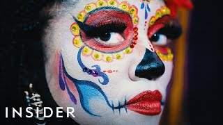 Why Skull Makeup Is A Day Of The Dead Tradition