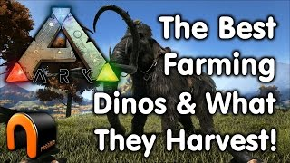 Ark Farming Dinos and What They Harvest
