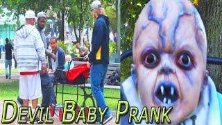 Abandoned Devil Baby - Halloween Scare Prank