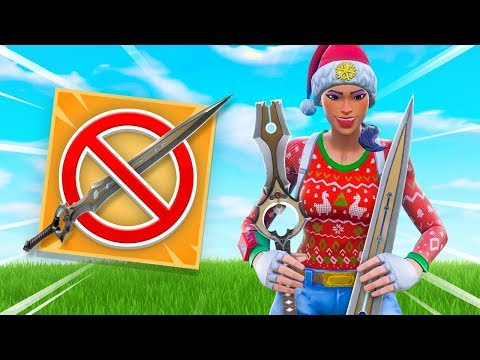 BANNING THE SWORD From Fortnite