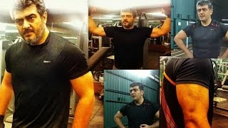Ajith Fitness Maintain For Next 55th Movie 2014