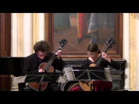 Petra Poláčková and Vincenzo Giura play Ferdinando Carulli: Serenata op. 96 n° 1
