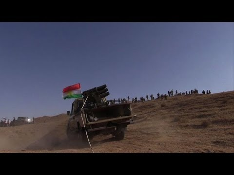 Kurdish forces fight Islamist militants in Iraq