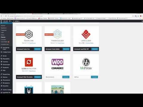 Самая продаваемая тема wordpress - Avada 5.7.2