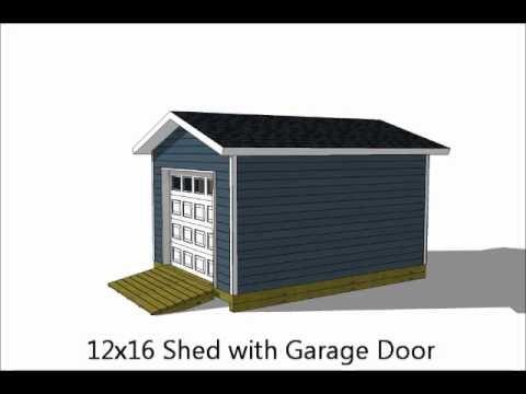 basic shed plans