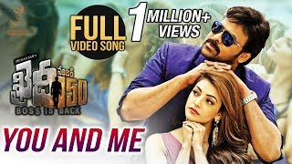 You And Me Full Video Song || Chiranjeevi || Kajal Aggarwal || V V Vinayak || Rockstar DSP