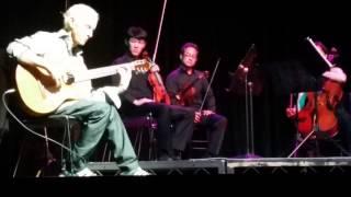 Robby Krieger spanish caravan with LA Philharmonic Quartet @music lifeboat