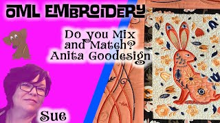Anita Goodesign machine embroidery: (ith) in the hoop quilting blocks