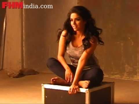 Asin poses naughty for the FHM shoot - part 2